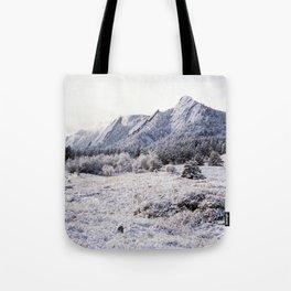 Winter Flatirons 35mm Tote Bag