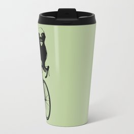 Honeybadger does care, about his health. Travel Mug