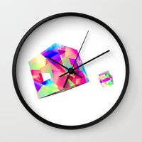 games Wall Clocks featuring GAMES by DIZYGOTIK