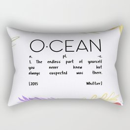 Endless Part of Yourself Rectangular Pillow