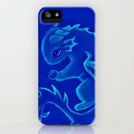 Water Dragon of the Deep iPhone Case