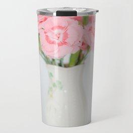 Pink Carnations 1 Travel Mug