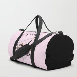 I love pilates Duffle Bag