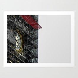 Big Ben Reconstructed Art Print