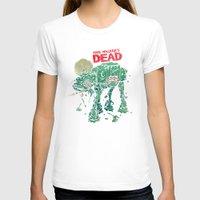 dead T-shirts featuring Walker's Dead by Victor Vercesi