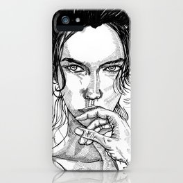 Come Hither iPhone Case