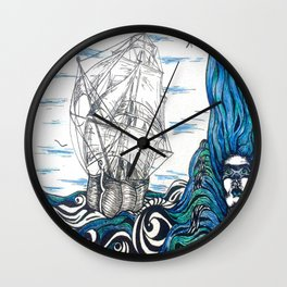 Such a Jealous Mistress Wall Clock