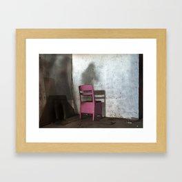 Impasse - Chair Framed Art Print