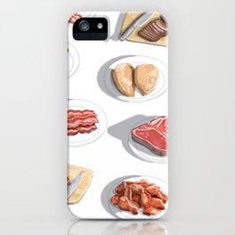 I Like Meat iPhone Case