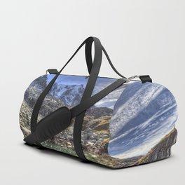 Mont Blanc Glacier Lake Duffle Bag