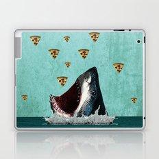 Pizza Shark Print Laptop & iPad Skin