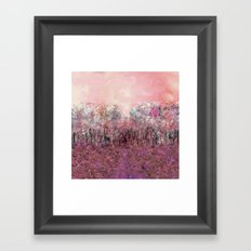 A Parade of Carnations & Roses Framed Art Print