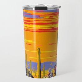Saguaro National Monument Travel Mug