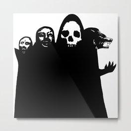 Fiend Club Metal Print