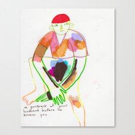 BEFORE YOU MET, Canvas Print