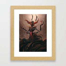 Mat'ergenu,The Life Spinner Framed Art Print