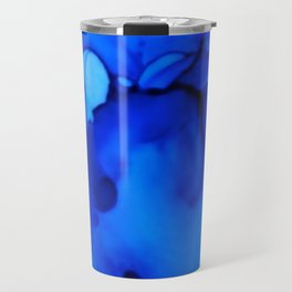 Blue Petunias Travel Mug