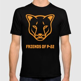 P22 Mountain Lion Orange T-shirt