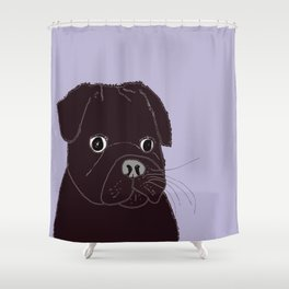 Somedays he's sweeter than others.  Shower Curtain