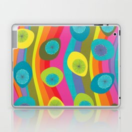 Groovy Retro Waves Laptop & iPad Skin