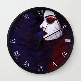 Sunk deep in the night... Wall Clock