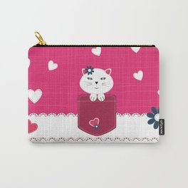 Little cat Carry-All Pouch