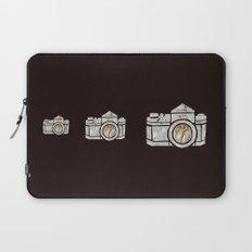 White Camera Laptop Sleeve