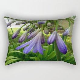 Purple Agapanthus Rectangular Pillow
