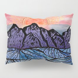 Royal Sunset Pillow Sham
