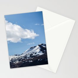 Snow Tops Stationery Cards