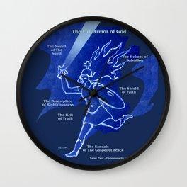 Warrior Girl 5 Wall Clock