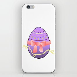 Egg and Pink Bow 01 iPhone Skin