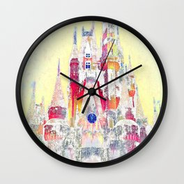 Snow Castle  Wall Clock