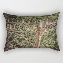 The Fence Rectangular Pillow