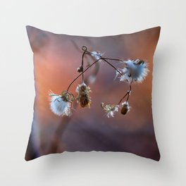 Stops the colors Throw Pillow