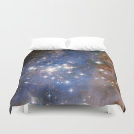 Star cluster Trumpler 14 in the Milky Way (NASA/ESA Hubble Space Telescope) Duvet Cover