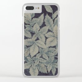 Roses plant Clear iPhone Case