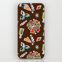 solar system iPhone & iPod Skins featuring Solar System by Holly Helgeson