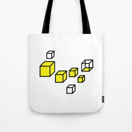Angular Eyes Tote Bag