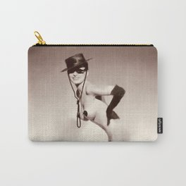 Vintage Digital Pinup Painting Carry-All Pouch