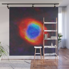 Abstract Galactic Nebula with cosmic cloud 10 xl Wall Mural