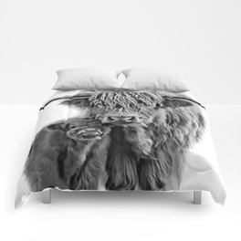 Highland Cow and The Baby Comforters