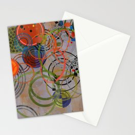 Abstract Composition 477 Stationery Cards