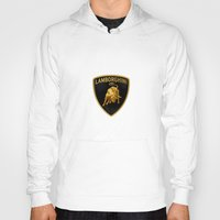 lamborghini Hoodies featuring Lamborghini black by JT Digital Art
