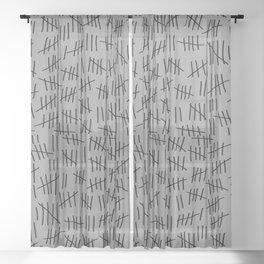 April 23rd (#5) Sheer Curtain