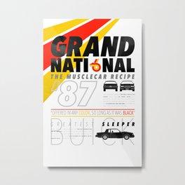 Grand National Metal Print