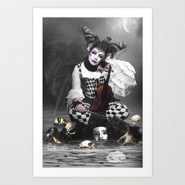 Multifaceted Woman Art Print