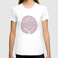 tree of life T-shirts featuring Tree of life - lilac by Seven Roses