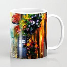 Starry Tardis Night Coffee Mug