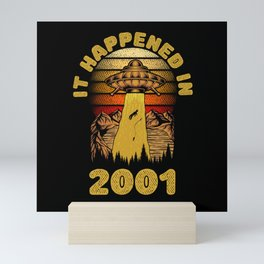 It Happened In 2001 UFO Alien Mini Art Print